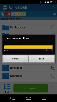 Video Compression Software for Android - Compressed Video Files